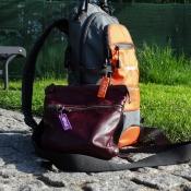 Рюкзак с брелоком Алеся